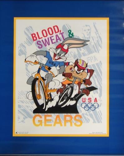 480116: Looney Tunes Bugs Taz Bicycle Race 1996 Olympic