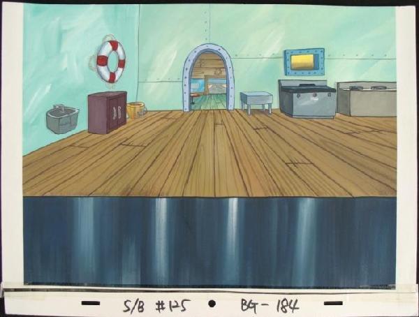 489654: Original Background Krusty Krab Kitchen