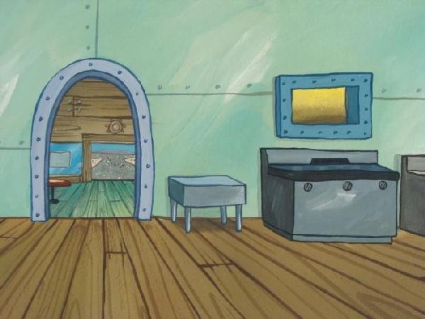 489654: Original Background Krusty Krab Kitchen - 2