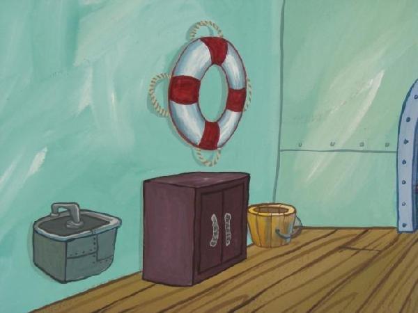 489654: Original Background Krusty Krab Kitchen - 3