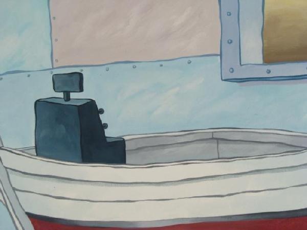 489693: 2 SpongeBob Backgrounds Original Animation Krus - 2