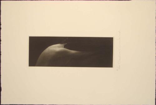 CHEVELLURE Nude Mikio Watanabe Art Print Mezzotint Art