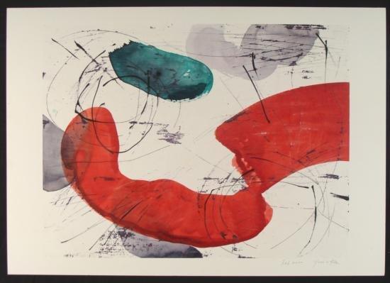 Yoshie Kanno Original Water Color Wax On Board #12