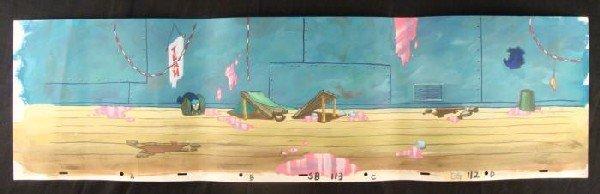 Spongebob Original Production Party Crashers Background