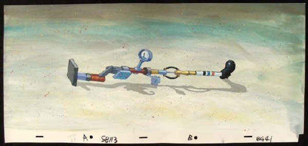Spongebob Background Animation Mechanical Leg Original