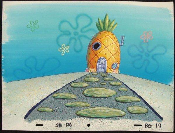 Spongebob Background Pineapple House Original Animation