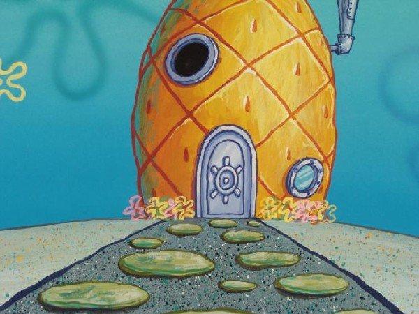 Spongebob Background Pineapple House Original Animation - 2