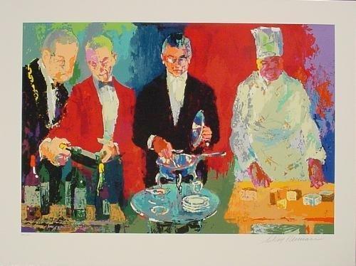 Chic POUR VOUS Signed LeRoy Neiman LE Art Print