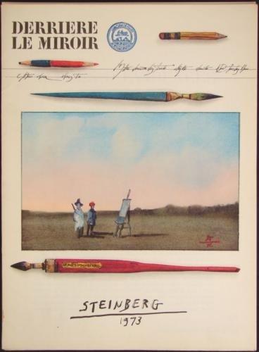 Derriere Le Miroir 1973 STEINBERG DLM 205 Art Prints
