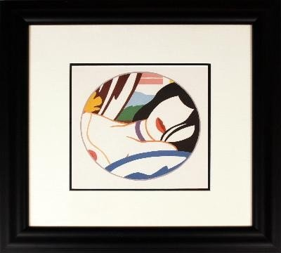 Signed Wesselmann Lucy Offset Lithograph