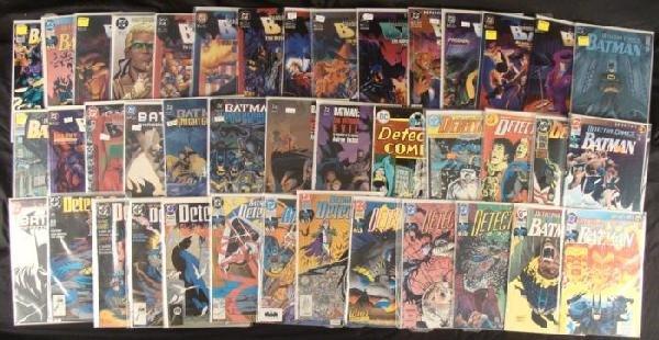 Mixed Lot of 43 Batman and Green Arrow DC Comic Books