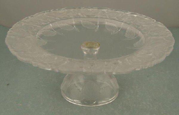 Wiebolts Vintage Glass Dessert Serving Dish In Box