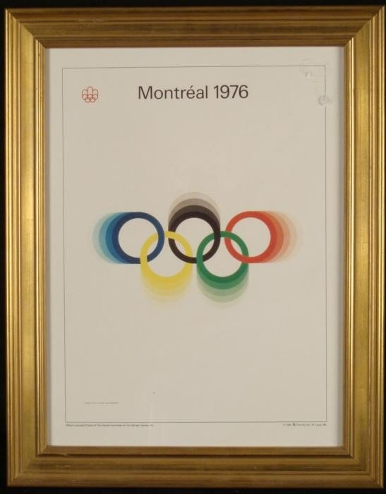 Olympic Games Fr Poster Print Montreal 1976 Roch Harder