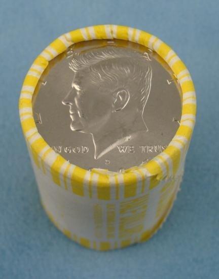 1995 D Bank Roll Kennedy Halves Half Dollars UNC