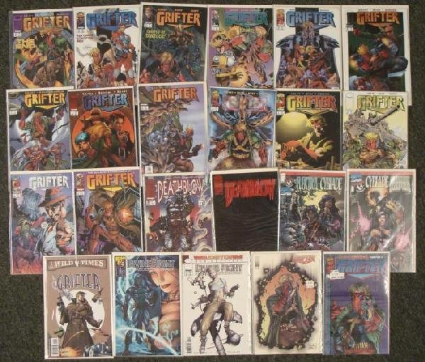 Image Comic Books- Deathblow The Grifter Divine Right