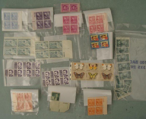 Plate Block Stamps Collection 1955-1995