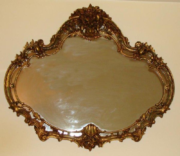 Vintage Italian French Provincial Large Elegant Mirror