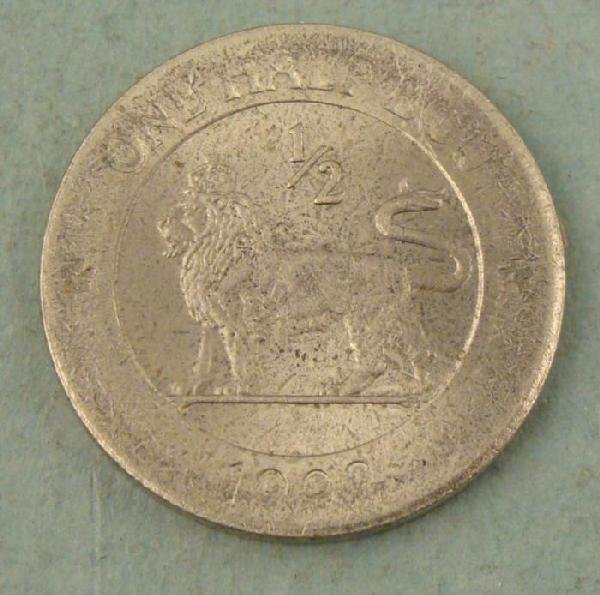 Great Britain 1/2 Ecu 1992 Coin -Scarce