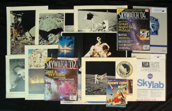 Space Shuttle Dealer Lot Magazines Comic Press Kit