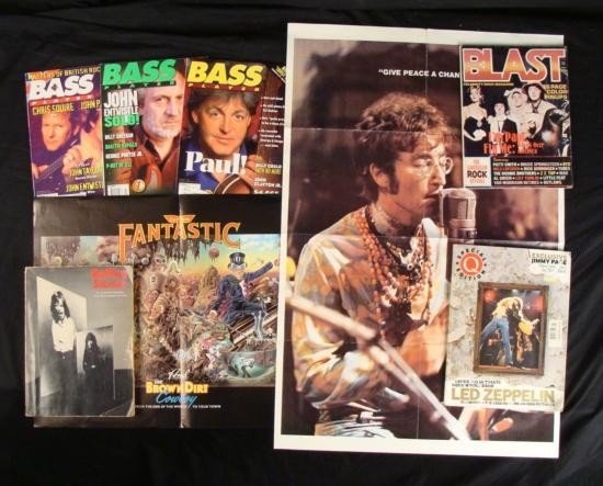 Lot of Music Magazine and Books- Rolling Stones