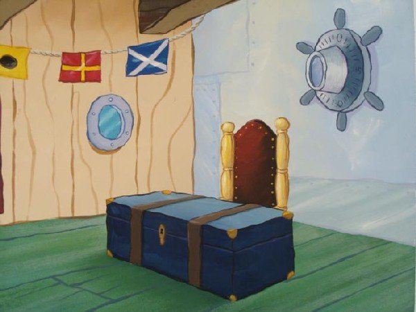 Mr Krab Office Original Background Animation SpongeBob - 2