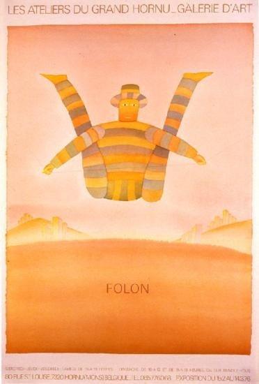 Folon Les Ateliers Du Grand Hornu Poster