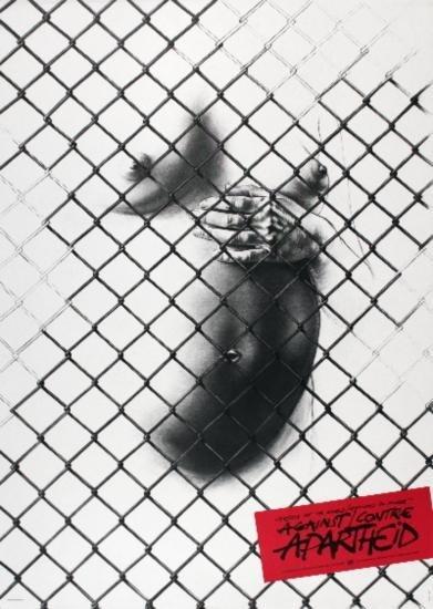 1983 Pignon-Ernest Against Apartheid Poster