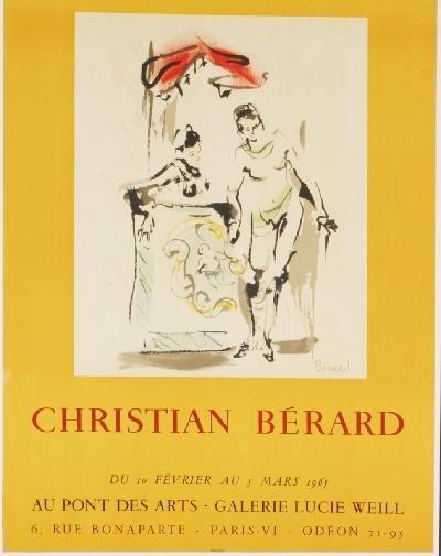 1965 Berard Galerie Lucie Weill Mourlot Lithograph