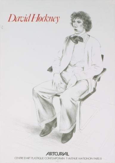 1979 Hockney Artcurial Lithograph