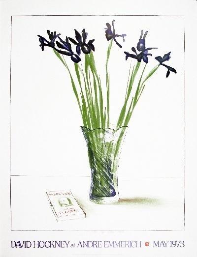 1973 Hockney Still Life with book Poster