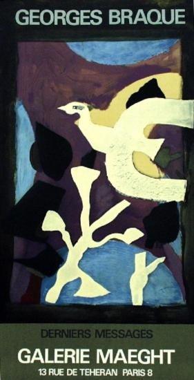 1967 Braque Affiche #102 Lithograph