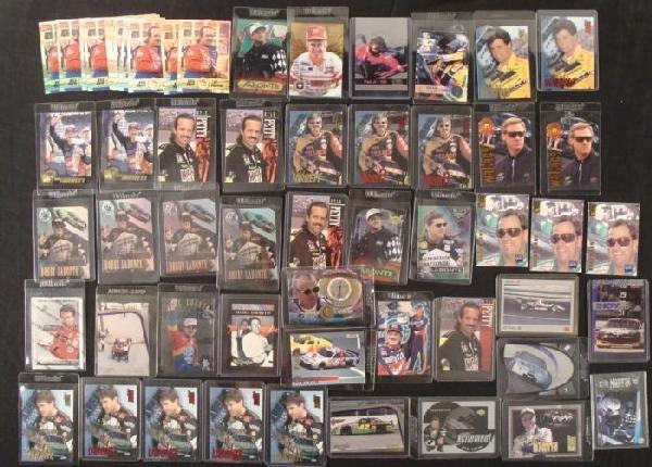56 Dealer LOT Trading Cards Great Nascar Racing Sport