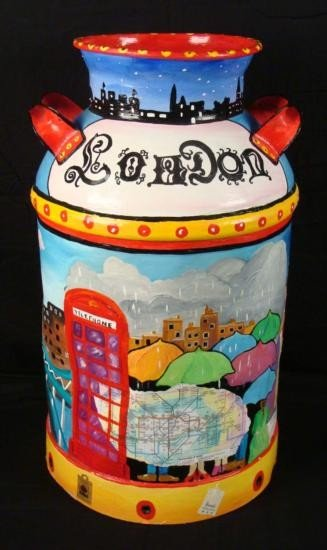 Linnea Pergola Original Milk Can London In The Spring