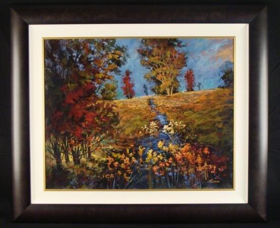 Tienhaara Original Landscape Oil Painting Summer Floral