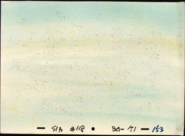 The Sand Original SpongeBob Background Animation Art