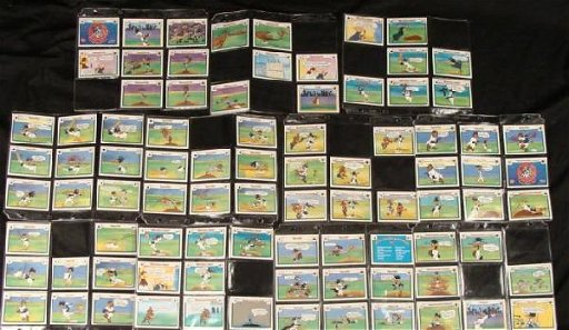 86 Looney Tunes All Stars Collector Baseball Cards Ud