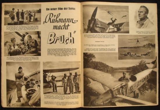 NAZI WWII LUFTWAFFE MAGAZINE  DER ADLER  ORIGINAL - 2