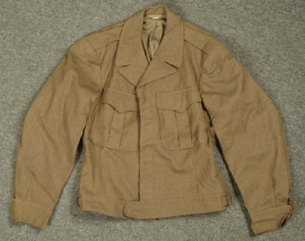 WWII G.I. EISENHOWER JACKET-40 REGULAR-HAS 1944 QM TAG
