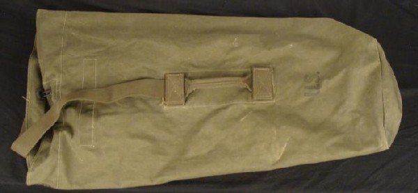 Vietnam War Era Duffle Bag 1976
