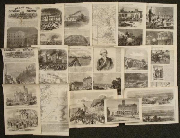 17 Civil War Prints Slaves Illustrated London News 1863