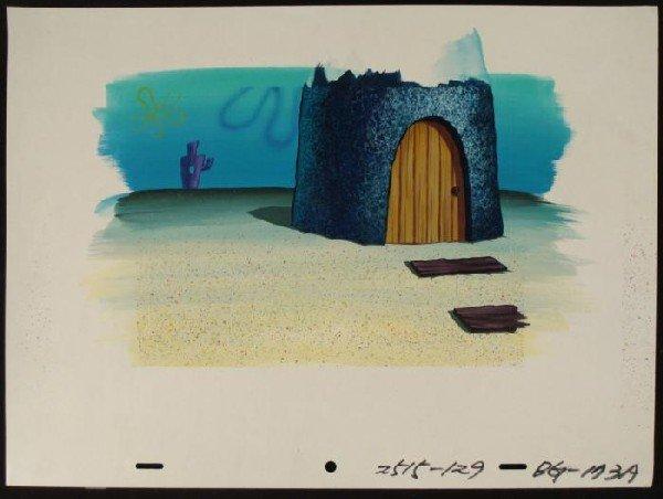 Front Door Original Spongebob Art Background Animation