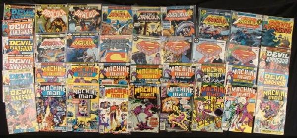 Comic Books Marvel Lot- The Man of Steel Machine Man