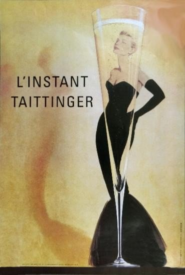 LInstant Taitinger (sm) Poster