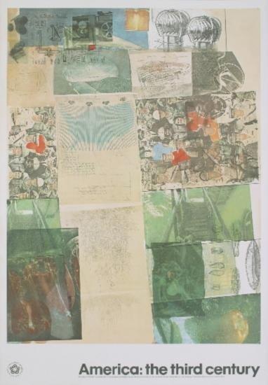1976 Rauschenberg Deposit Poster