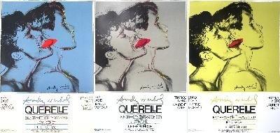Warhol Querelle set of three Poster
