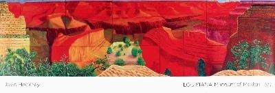2009 Hockney A Closer Grand Canyon Poster