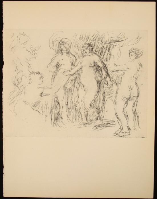 Nudes Renoir Litho Art Print LE Mourlot Vollard Suite