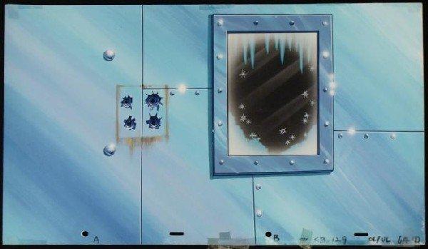 Cel Original Frozen Spongebob Background Animation