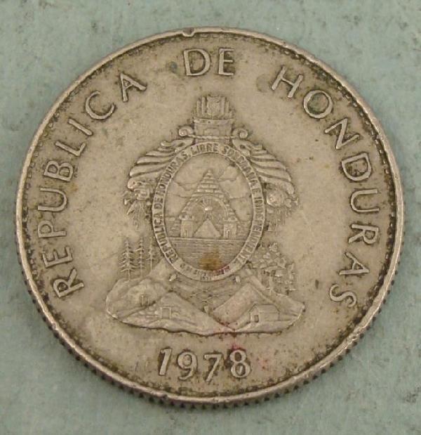 Honduras 1978 50 Centavos Coin