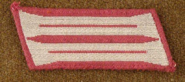 Maroon Silver Officer Insignia (LT)? Collar Tab